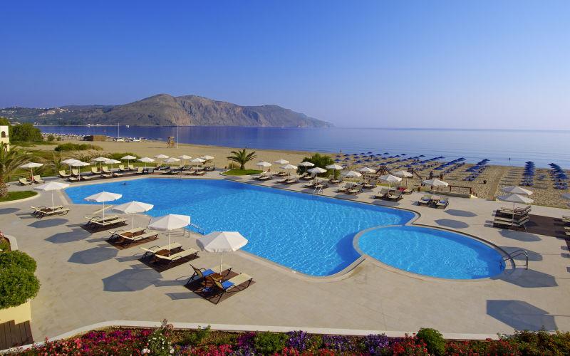 Pilot Beach, Giorgiopolis, Kreta
