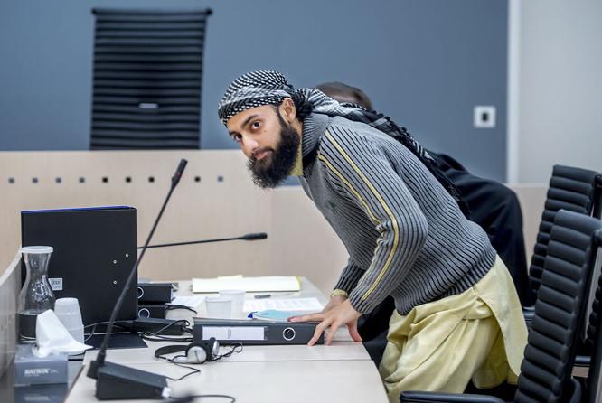 Ubaydullah Hussain i Oslo tingrett. (Foto: Helge Mikalsen/VG)