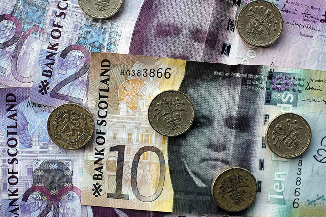 Pund, euro eller ny valuta? (Foto: Scanpix)