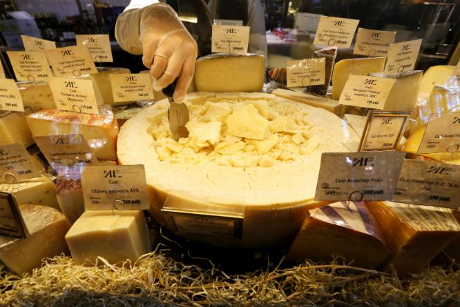 Hvor godt kjenner du osten din? (Foto: REUTERS/Alexander Demianchuk)