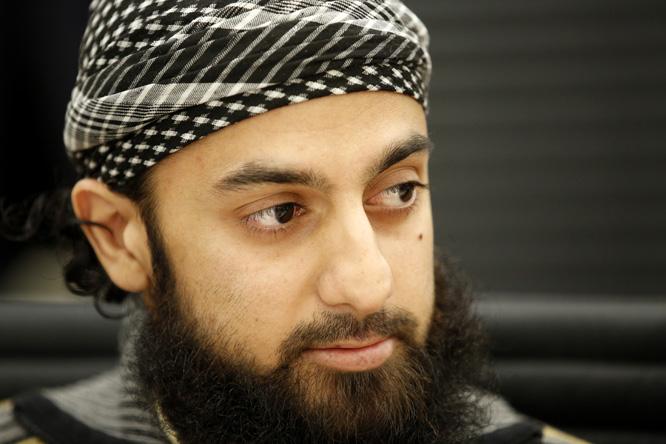 Ubaydullah Hussain møtte i Oslo tingrett i dag. (Foto: Scanpix)