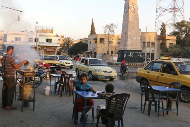 Den syriske byen Raqqa anses for å være IS' hovedstad og base. (Foto: REUTERS/Stringer/NTB Scanpix)