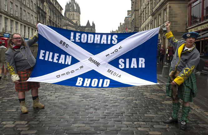 Skottland forblir en del av Storbritannia (Foto: Scanpix)