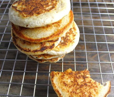 Veganske pannekaker uten egg og andre animalske produkter. Klikk på bildet for oppskrift (Foto: Veganimisjonen)