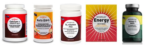 Produkter fra Nycoplus