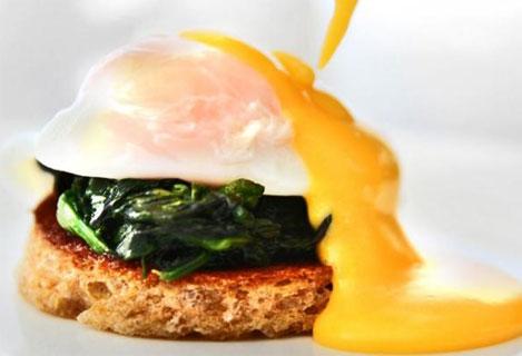 Dette er egg av en annen klasse! (Foto: Erik Hannemann og Klikk Mat)