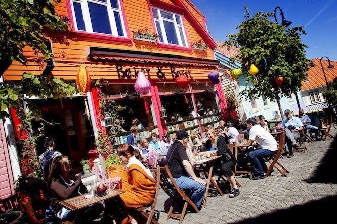 Øvre Holmegate i Stavanger. (Foto: HENNING CARR EKROLL/VG)