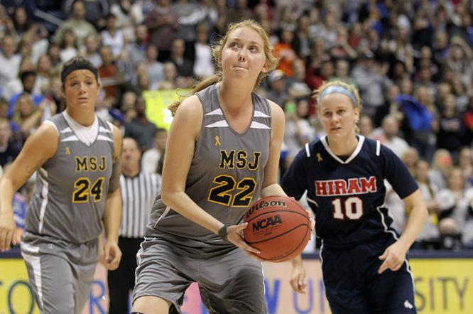 Lauren sørget for fire poeng til laget sitt. (Foto: Andy Lyons/Getty Images/AFP/Scanpix)