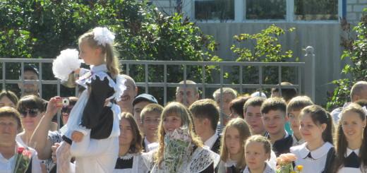 1 сентября 2016 в СОШ №6 г. Шебекино