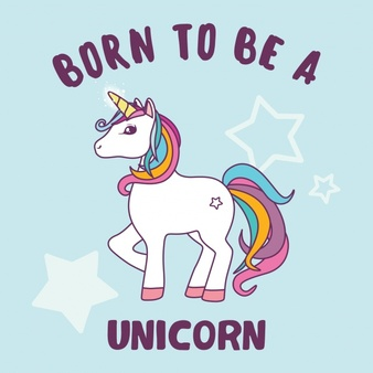 Unicorn background design 1324 78