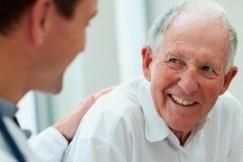 Patient doctor happy