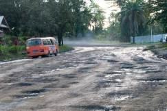 Papua New Guinea road