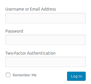 Add additional Two-Factor Authentication custom field at login