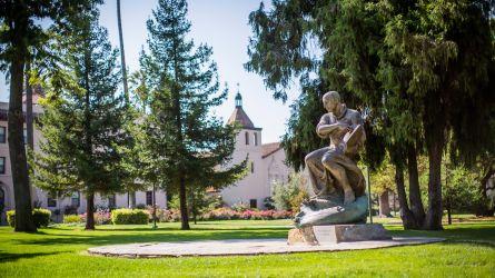 St. Ignatius Statue at Santa Clara University