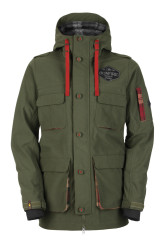 L35550200 utility jacket solid 1