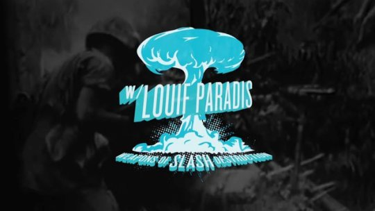 WEAPONS OF SLASH DESTRUCTION: Louif Paradis rides the Villain X District