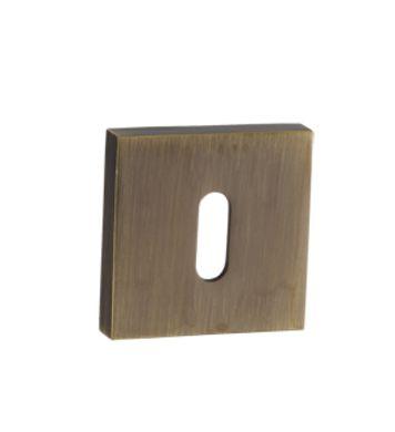 Rozeta kwadrat na klucz RPQ 401 Patyna