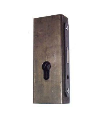 Kaseta z zamkiem ZW-2 Metalik GAP 40x60