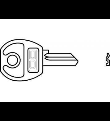 Klucz surowy Bębenkowy krótki do ZKP2 AP-100