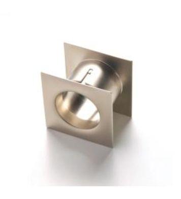Tuleja wentylacyjna kwadrat G-5 Metalowa 37-45