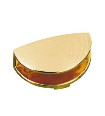 Podpórka 32 do szklanych półek Złota mała