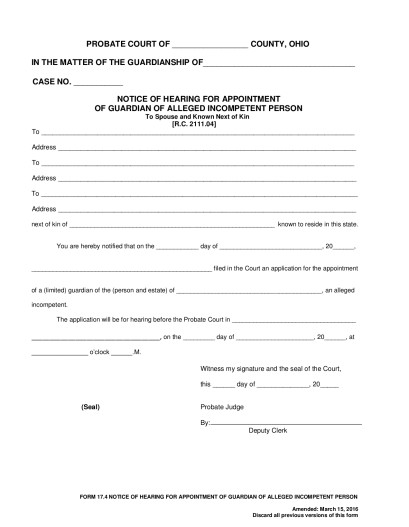 Guardianship | Seneca County Juvenile Probate Court | Page 3