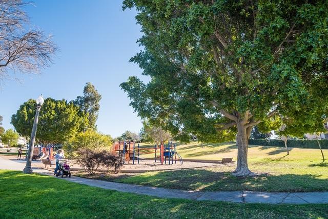 A Park in La Mesa California
