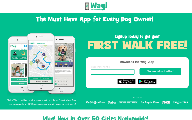 So, if you have a hectic schedule then simply get the Wag app instead. This is the number 1 dog walking app and can help you to find someone to take your dog for a walk when you are not able to. Comments for Wag Walking (12)/5(13).