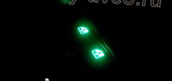 Простой способ сделать подсветку кнопок стеклоподъемников в Шевроле Авео