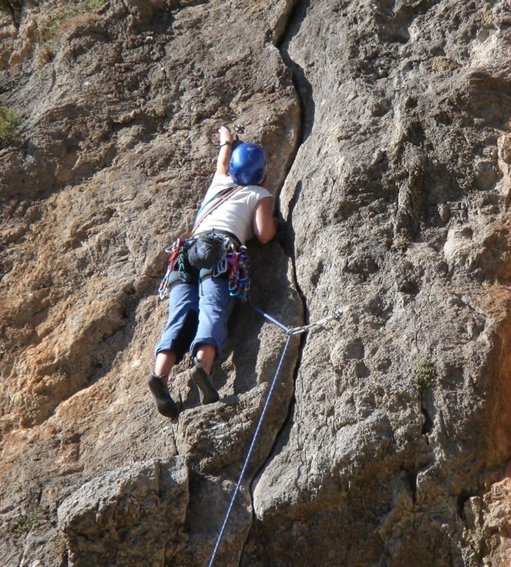 Rock Climbing Course Granada