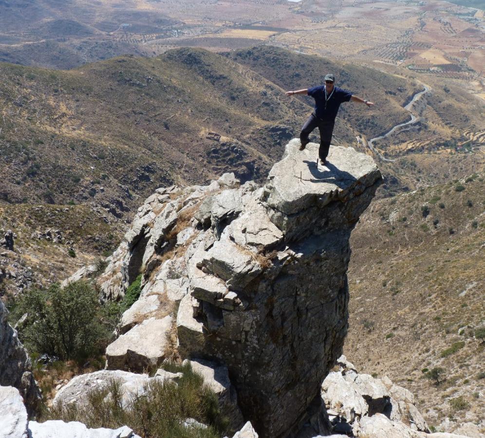 Walking tours in the Sierra de Filbares