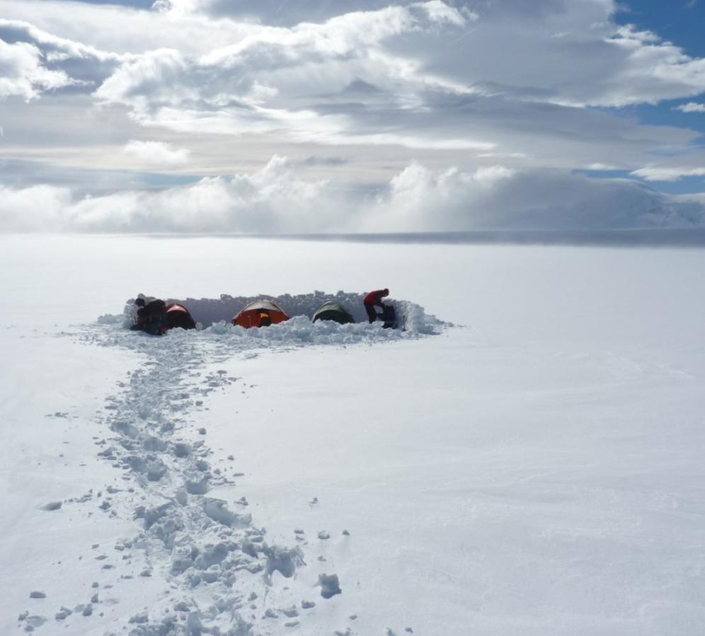 Regular expeditions to the Patagonian Icecap