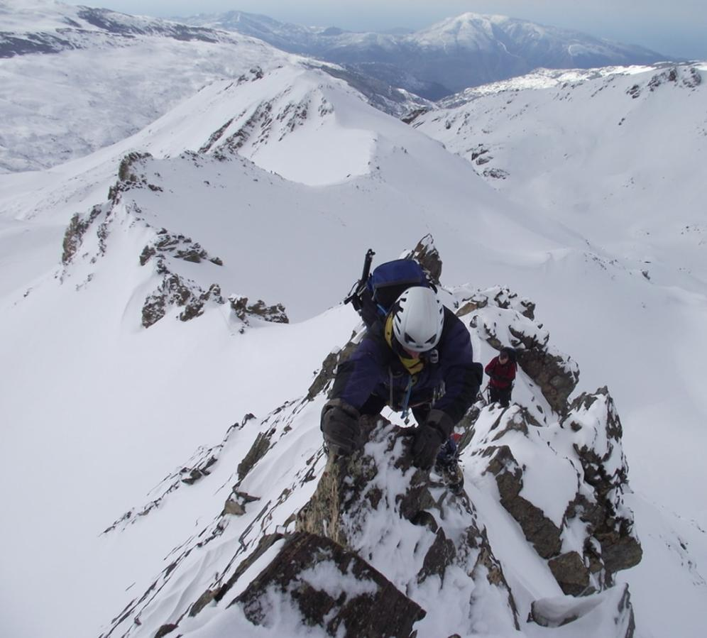 Alpine Ridges of the Sierra Nevada