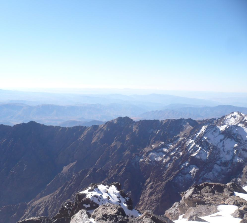 Toubkal views, Atlas mountain