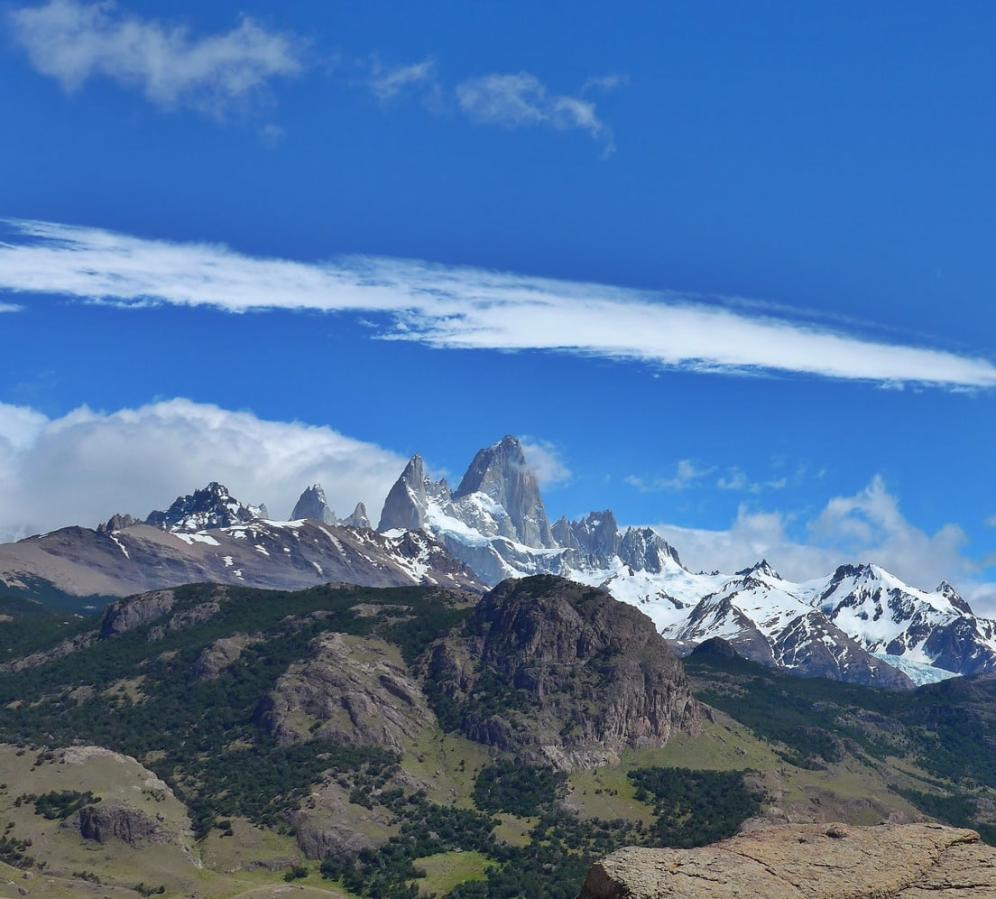 Views of the massifs from El Chalten
