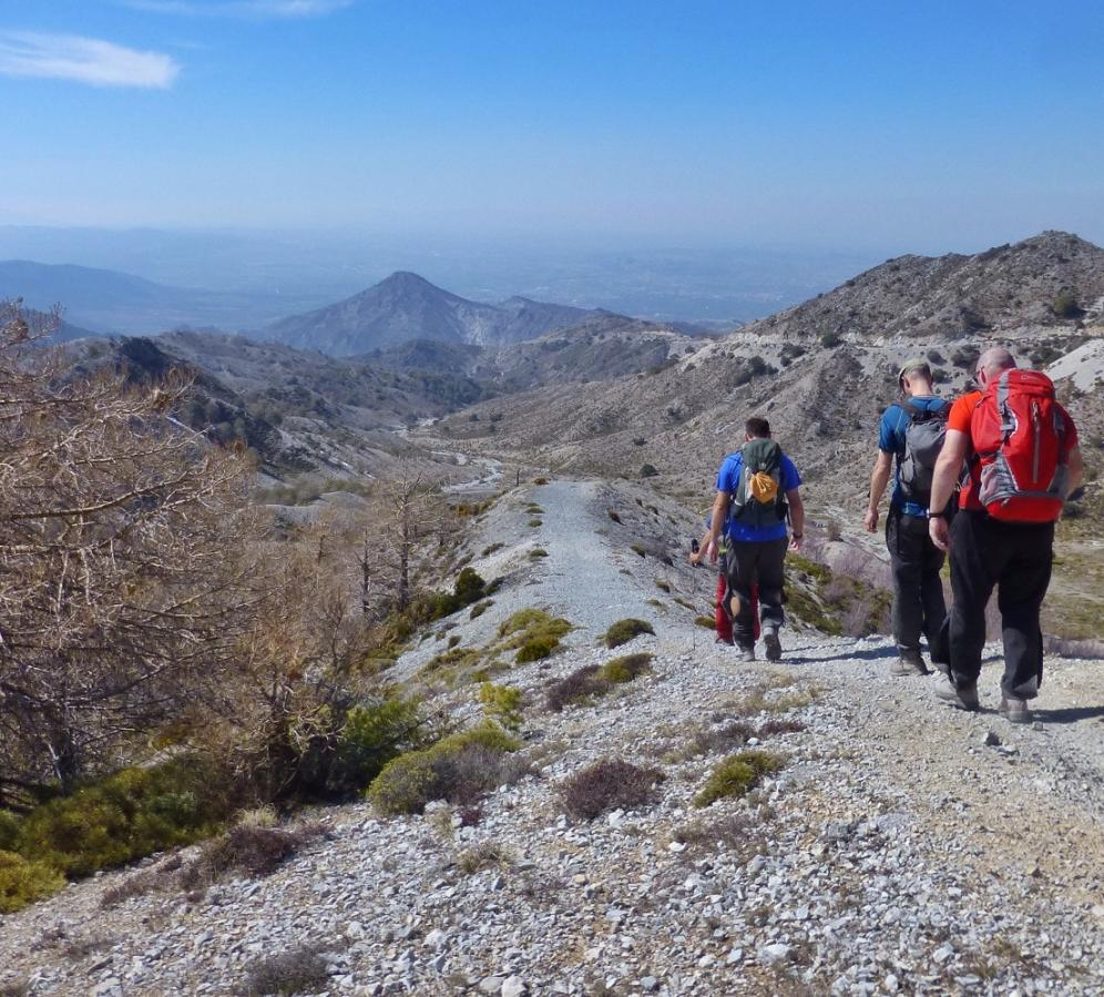 Walking the Cumbres Verdes