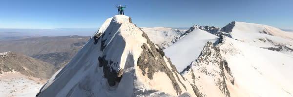 sierra nevada mountain guiding prices