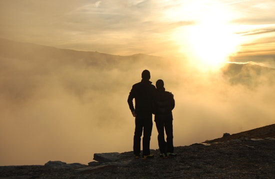 Sunset from the Sulayr GR420