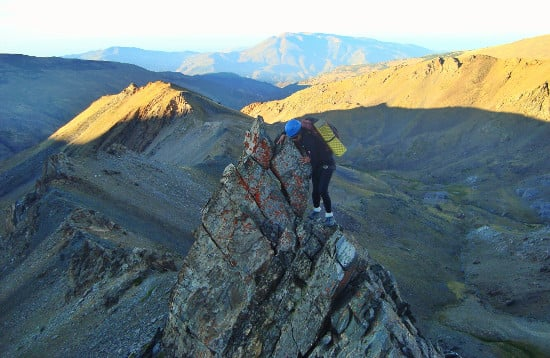 Summer Alpine Ridges