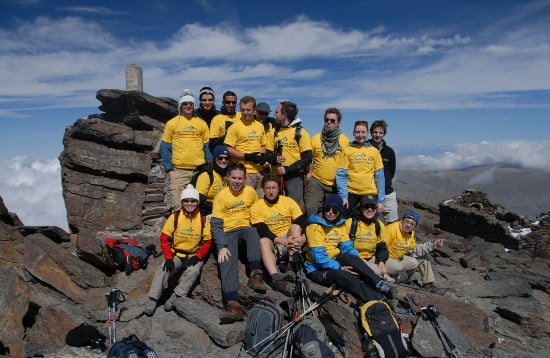 Climb Mulhacen for Charity