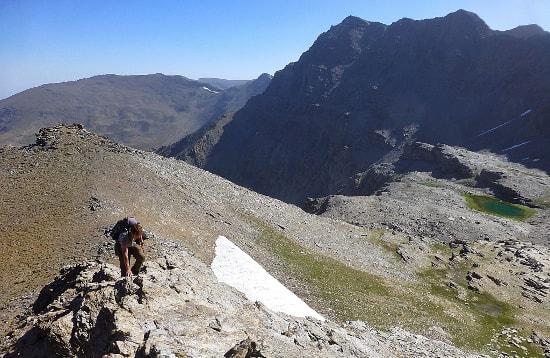Ski area to Capileira via Los Machos