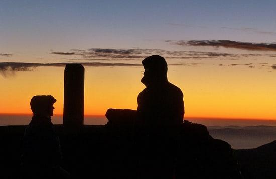 Night on the Summit of Mulhacen