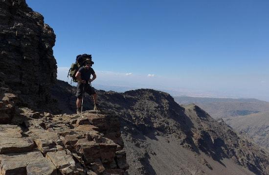Multi day trekking Northern Sierra Nevada