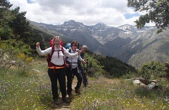 Sierra Nevada Northern Peaks to Trevelez