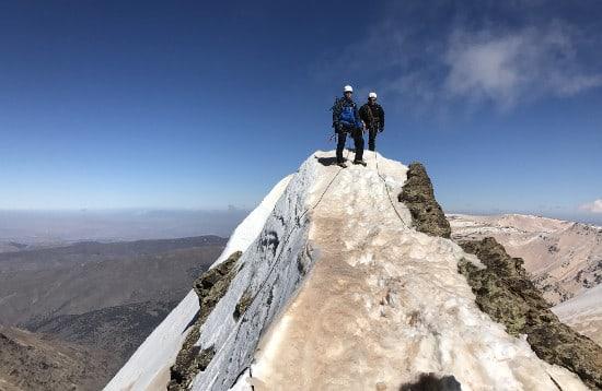 Winter Alpine Ridges