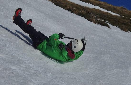 Iceaxe Breaking Winter Skills