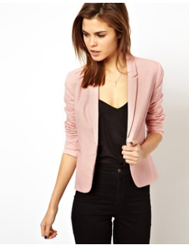 asos-linen-tailored-blazer by asos-collection