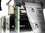 tipogrādijas drūkāšanas iekārta
