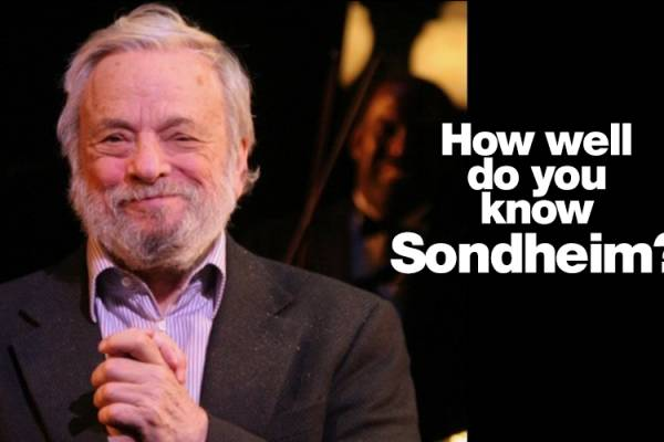 How well do you know Sondheim?