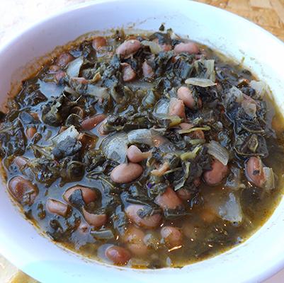 Collard Greens & Pinto Beans